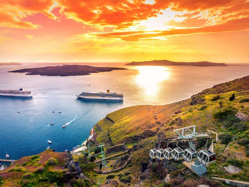 Leading transfer and tours provider in Santorini Greece
